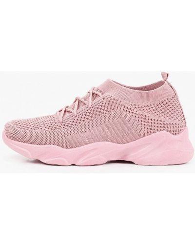 Текстильные розовые кроссовки Wilmar