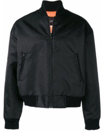 Черная куртка с манжетами с вышивкой Not Guilty Homme