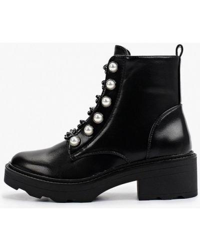 Черные зимние ботинки Ideal Shoes®
