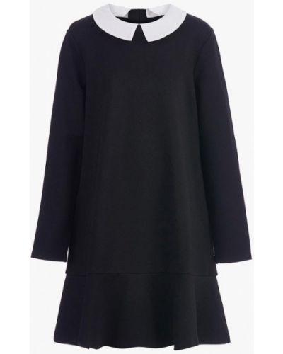 Черное платье осеннее Gulliver