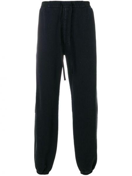 Спортивные брюки черные свободного кроя Unravel Project