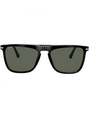 Прямые черные солнцезащитные очки квадратные Persol