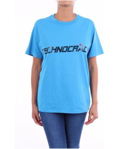 Niebieski t-shirt Omc