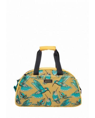 Желтая дорожная сумка Grizzly