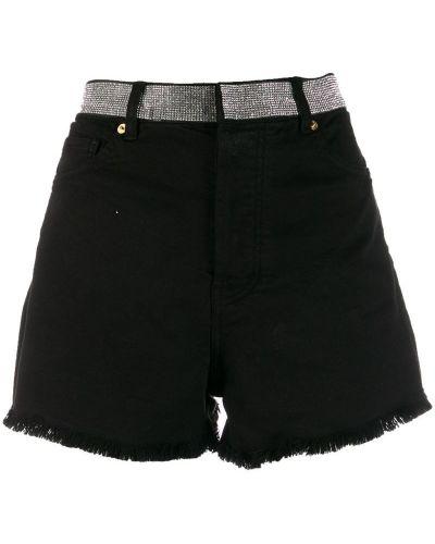 Черные шорты с карманами Alexandre Vauthier