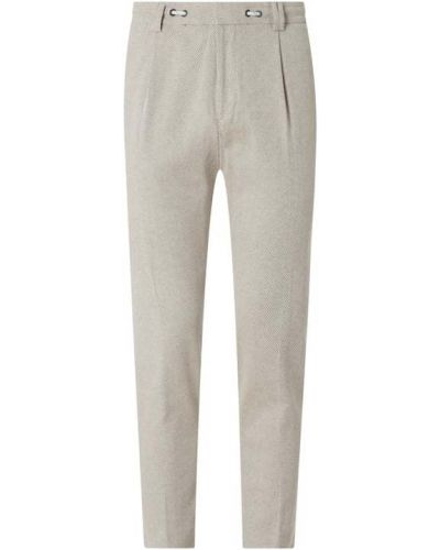 Spodnie bawełniane - beżowe Cinque