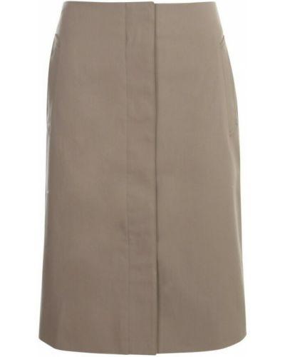 Beżowa spódnica Lemaire