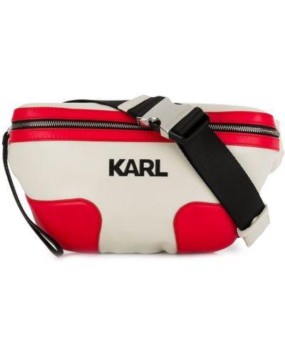 Поясная сумка бежевый Karl Lagerfeld