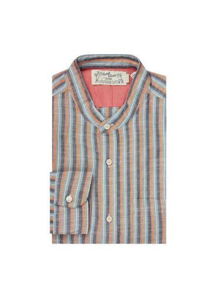 Koszula z długim rękawem w paski z paskami Scotch & Soda