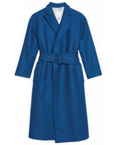 Пальто пальто-халат шерстяное Sandro