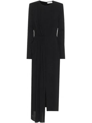 Wieczór czarny sukienka wieczorowa z wiskozy rozciągać Givenchy