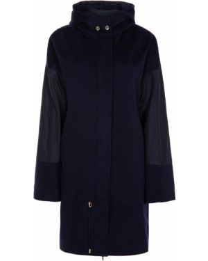 Пальто с капюшоном на молнии на кнопках Les Copains