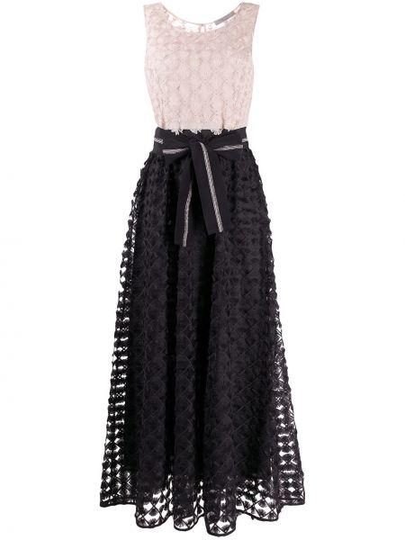 Черное платье без рукавов твидовое D.exterior