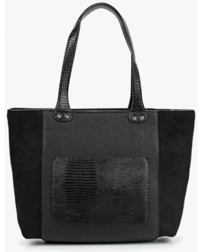 Кожаный сумка с ручками замшевая Dorothy Perkins