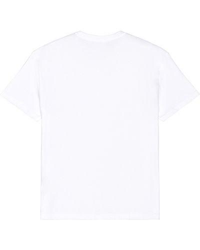 Światło biały bawełna bawełna t-shirt Polo Ralph Lauren