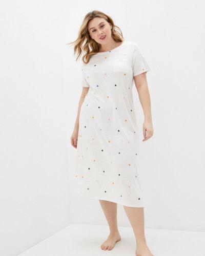 Домашнее белое платье Marks & Spencer