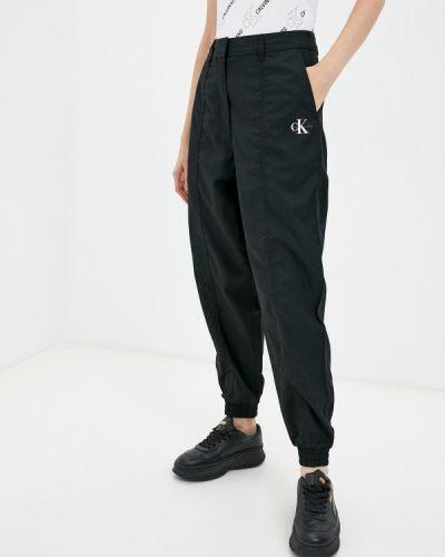 Брюки повседневные - черные Calvin Klein Jeans