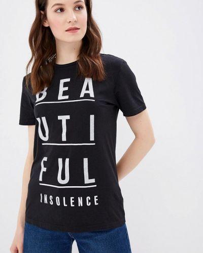Футбольная черная футболка Fresh Brand