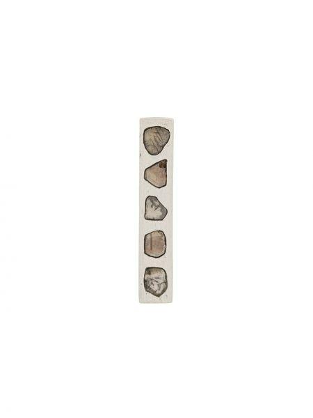Серебряные серьги с бриллиантом Parts Of Four