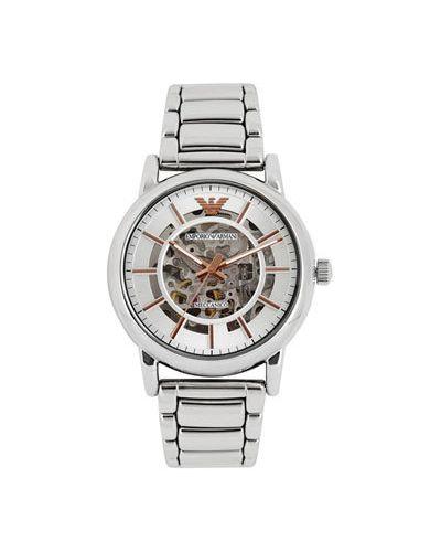 Часы механические водонепроницаемые Emporio Armani