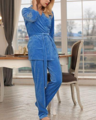 Домашний костюм велюровый Mix-mode