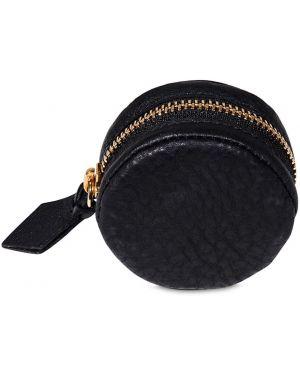 Czarna torebka skórzana Extra Virgo