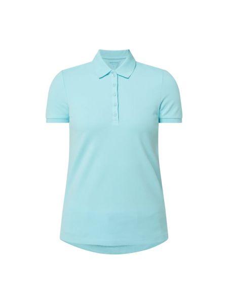 T-shirt bawełniana - niebieska Montego