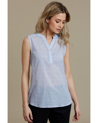 Niebieska koszula bez rękawów Mountain Warehouse