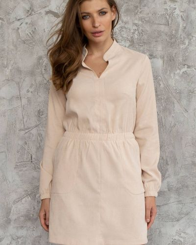Платье - бежевое Nenka