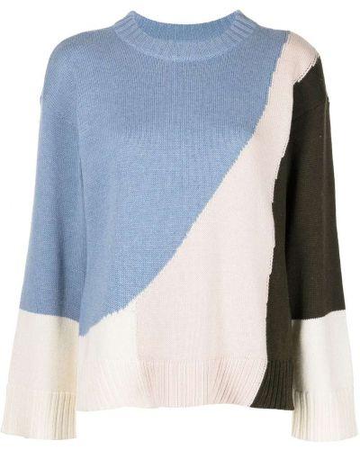 Кашемировый длинный свитер круглый с вырезом Apiece Apart