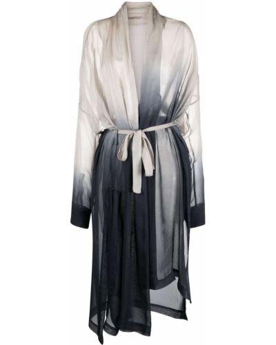 Шелковое длинное пальто Masnada