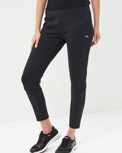 Спортивные брюки весенний черные Anta