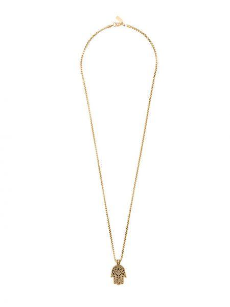 Naszyjnik szary srebro Nialaya Jewelry