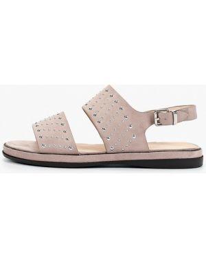 Розовые текстильные сандалии Lolli L Polli