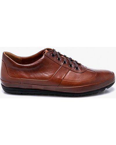 Коричневые туфли на шнуровке Conhpol