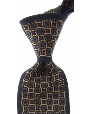 Złoty krawat - niebieski Mila Schon