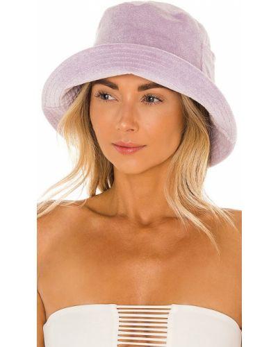 Шерстяная фиолетовая шапка с карманами Lack Of Color