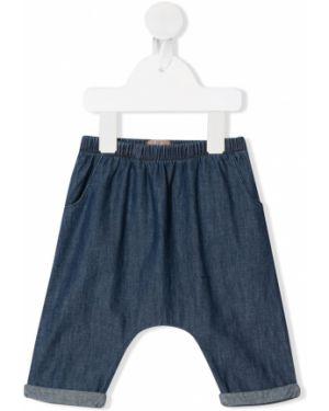 Синие брюки на резинке Emile Et Ida