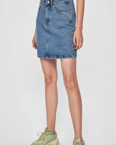 Юбка мини джинсовая на пуговицах Vero Moda
