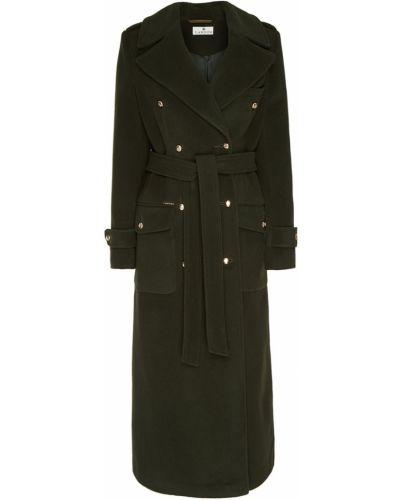 Шерстяное пальто - зеленое Laroom