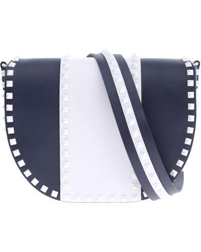 Кожаный сумка маленькая с клапаном Valentino