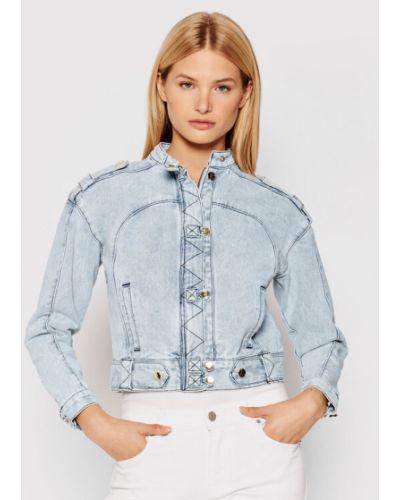 Niebieska kurtka jeansowa Ixiah