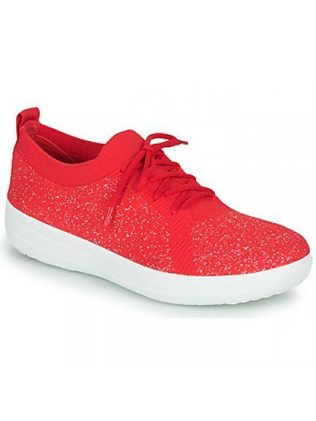 Czerwone sneakersy Fitflop