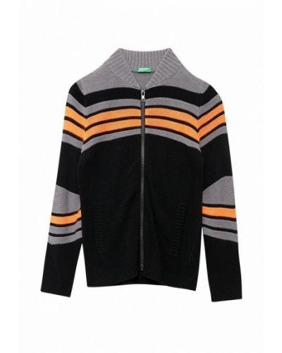 Черный кардиган United Colors Of Benetton