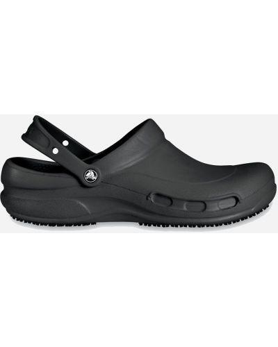 Черные сабо Crocs