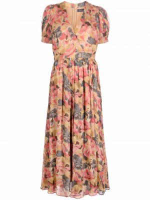 Платье макси длинное - розовое Polo Ralph Lauren