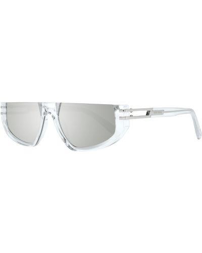 Białe okulary Diesel