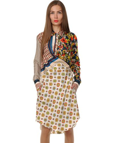 Шелковое платье Jean Paul Gaultier