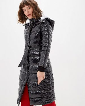 Теплая черная утепленная куртка Oakwood