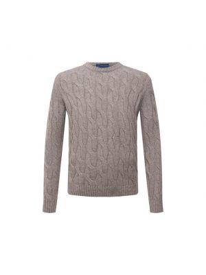 Кашемировый свитер - бежевый Andrea Campagna